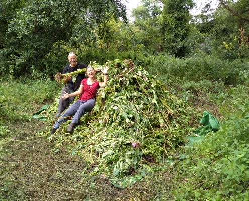 Volunteer in the Colne Valley