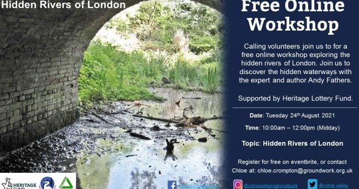 Hidden Rivers of London - Online Workshop