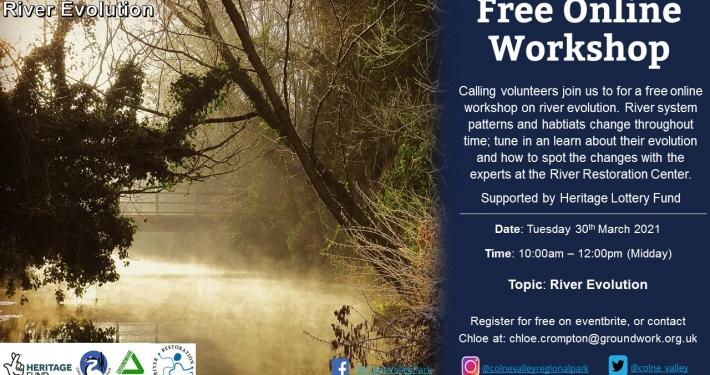 River Evolution - Online Workshop