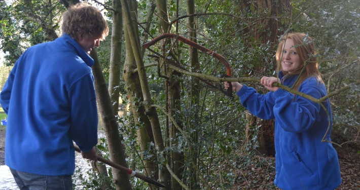 Volunteer Task at Hardings Row Nature Reserve