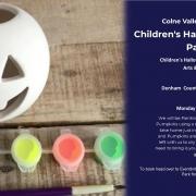 Children's Halloween Pumpkin Painting